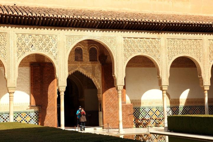 La salle du trône de l'Alhambra