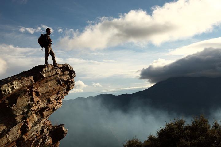 Vue sur la Sierra de la Contraviesa