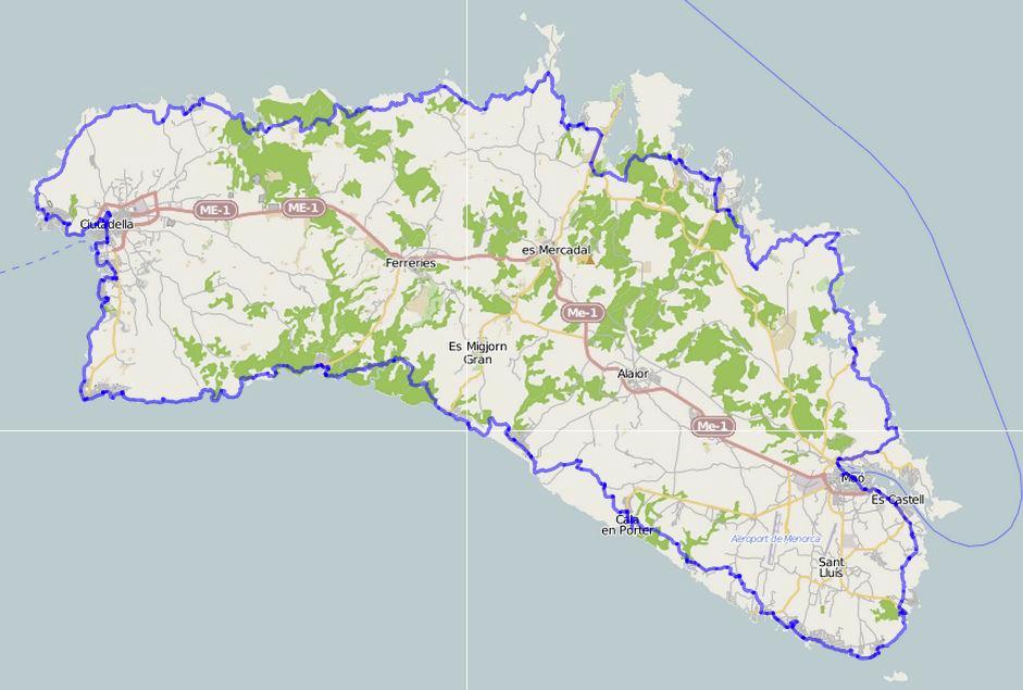 La trace du Cami de Cavalls, GR233