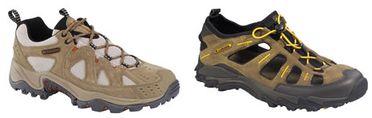 des chaussures de ballades chez Columbia, la Simbo et la Black Rock