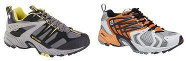 les Columbia de course et de trail, les modèles Titanium Karasi et Titanium Zephir