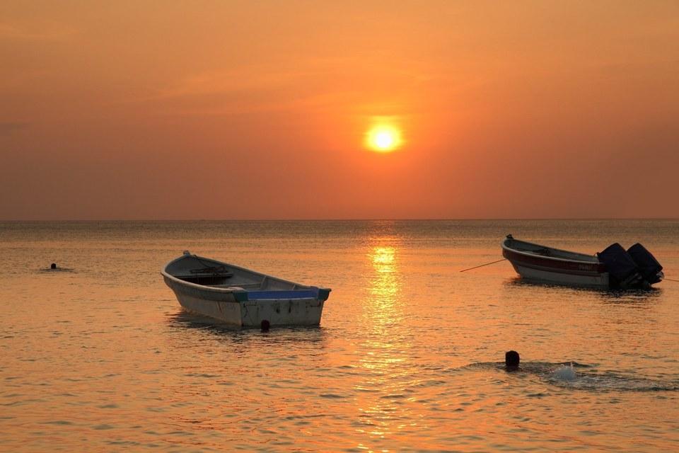 Portfolio colombie - Photos de coucher de soleil sur la mer ...