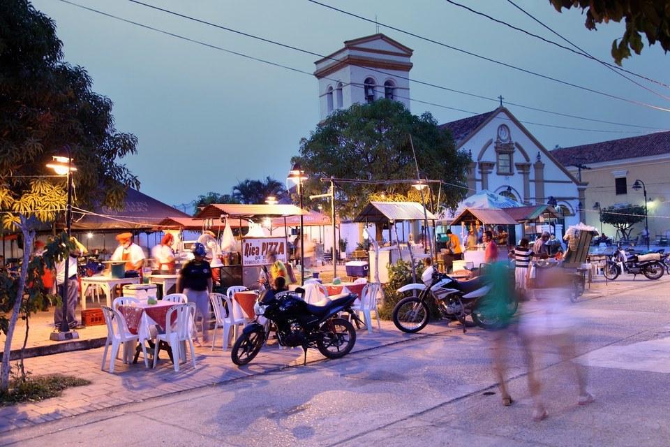 Le Centre ville de Mompox