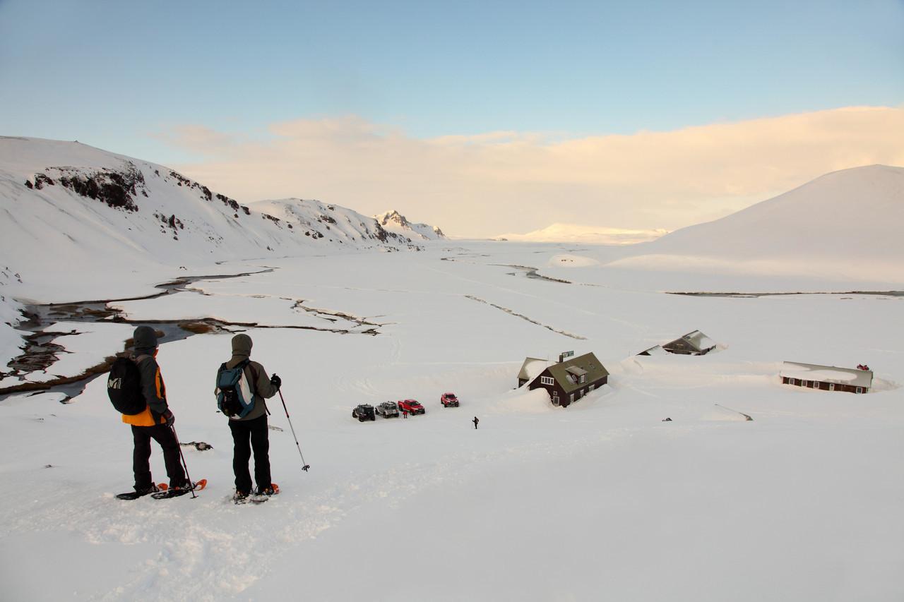 En Islande en hiver avec Allibert