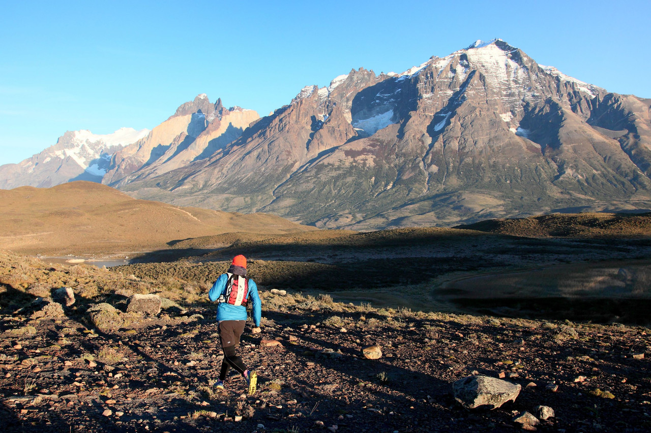 Courir dans les Torres del Paine