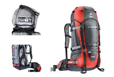 La série des sac Deuter Guide répond aux besoins des alpinistes.
