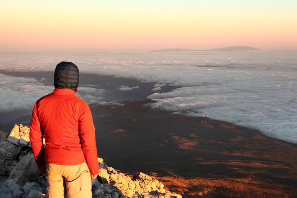 Vue depuis le sommet du Teide