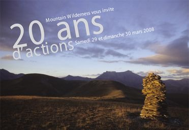 20 ans de Mountain Wilderness