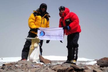 Au sommet de l'Aconcagua !