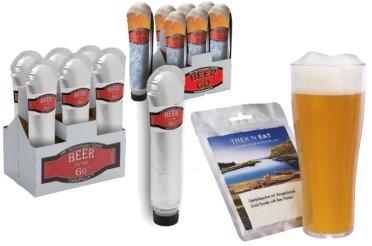 De la bière pour la randonnée