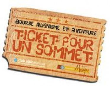Bourse Alpinisme Aventure 2008