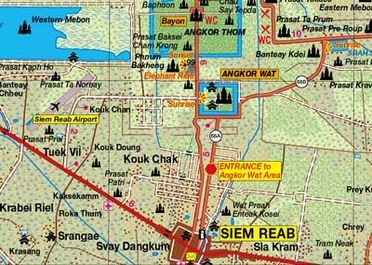 Nouvelles cartes du Laos et du Cambodge
