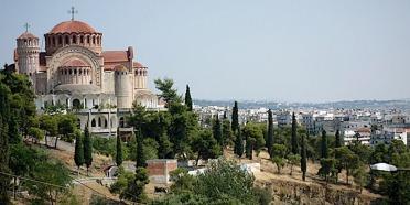 Courir dans les hauteurs de Thessalonique