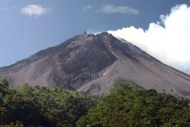 Eruption en Indonésie