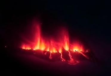 Eruption en Islande