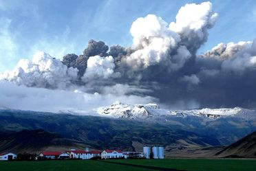 Eruption volcanique en Islande