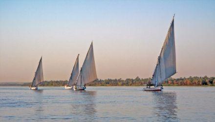 Felouque et rando, reflets du Nil