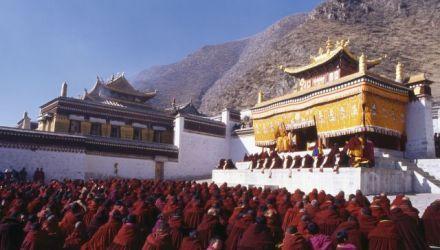 Festival du Nouvel An tibétain en l'Amdo