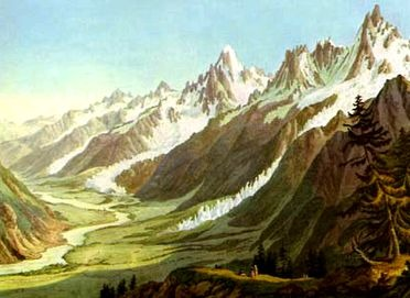 Glaciers alpins