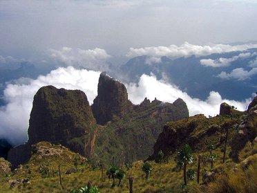 Hauts plateaux d'Ethiopie