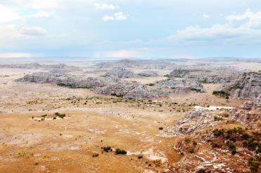 Le massif de l'Isalo