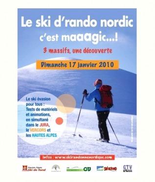 Journée du Ski de Randonnée Nordique