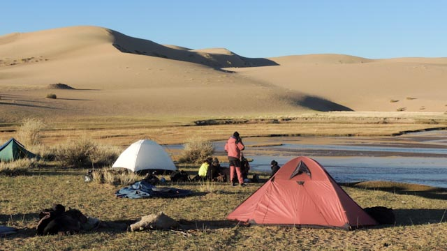 La route du sel en Mongolie
