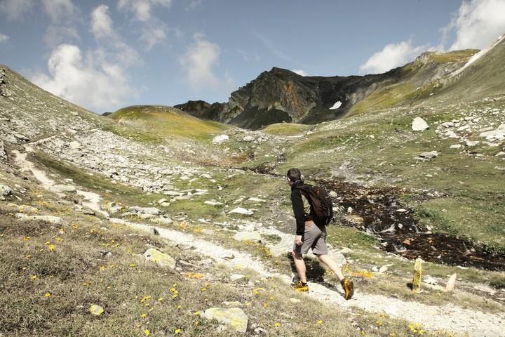 Le Valais et le Col du Grand Saint Bernard