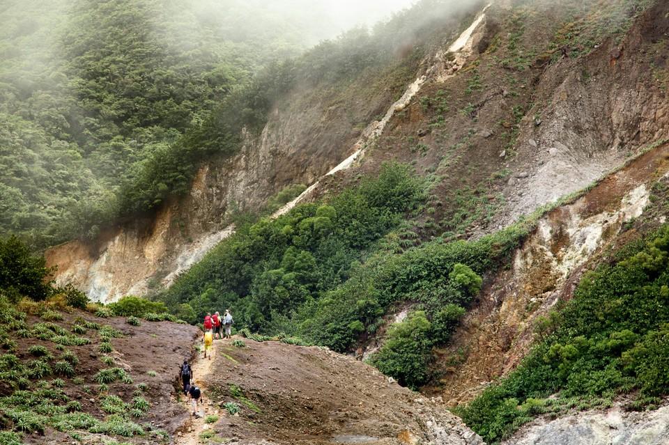 Le Waitukubuli trail en Dominique
