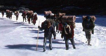 Le Zanskar en Hiver