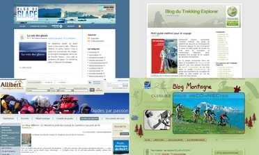 Les blogs des agences de voyage et trekking