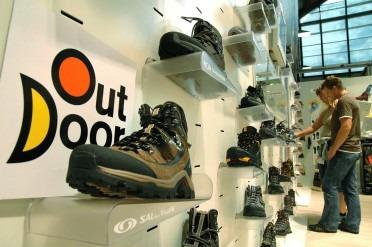 Les chaussures au salon Outdoor