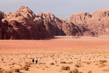 Les couleurs du Wadi Rum