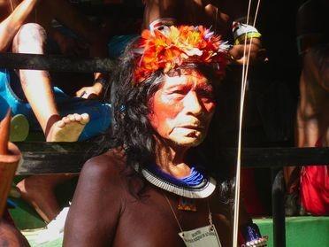 Les Indiens d'Amazonie contre les barrages