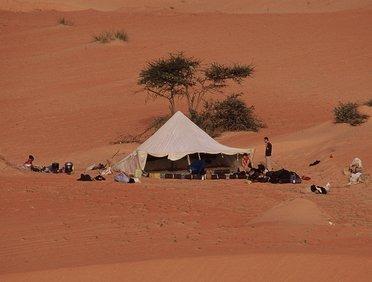 Liste d'équipements de randonnée pour le désert