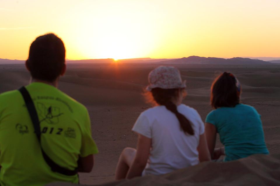 Maroc: Le désert en famille