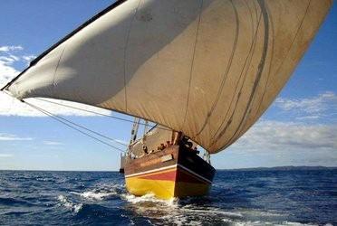 Naviguer à bord d'un boutre