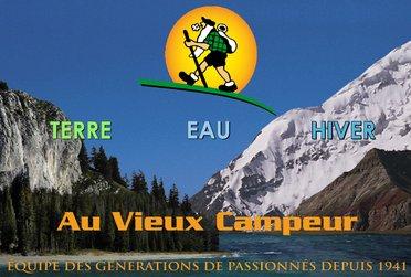 Nouveau site web du Vieux Campeur