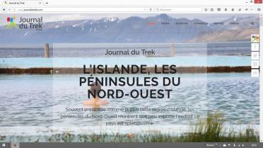 Nouvelle version Journal du Trek