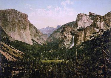 Photo du Yosemite de 1900