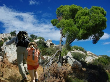 Randonnée le GR92, sentier du littoral catalan
