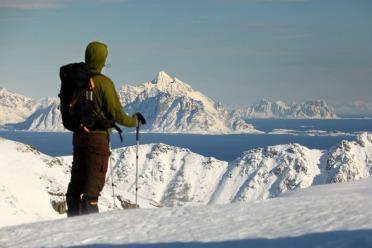 Randonnée en Raquettes sur les Lofoten