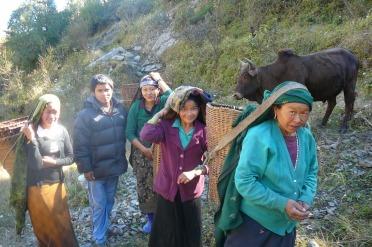 randonnées au Népal (GPS, enregistreur de parcours)