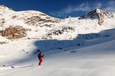 Raquettes dans les Alpes