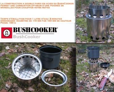 Réchaud à bois Bushcooker
