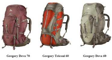 Sac à dos Gregory 50-60-70l