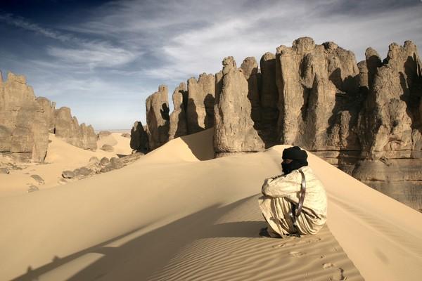 Sahara et grimpe