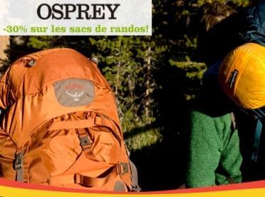Soldes et Promotions Osprey