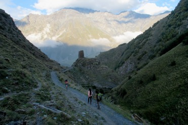 Stephantsminda et le Mont Kasbek