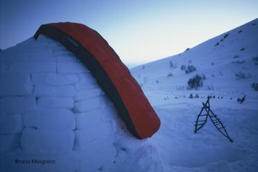 Test du duvet Pyrénex Alpine 1600
